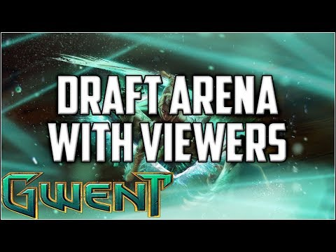 Gwent Draft Arena With Viewers ~ Cave of Dreams ~ Gwent Ranked Gameplay The Witcher Card Game
