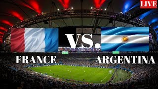 FRANCE VS ARGENTINA LIVE 2018 WORLD CUP LIVE NOW 1/8 FINALS ♛ FOOTBALL LIVE SCORE ENGLISH COMMENTARY