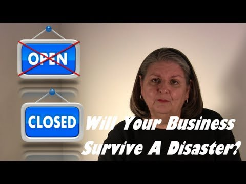 Would Your Small Business Survive a Disaster? Get a Plan Now!