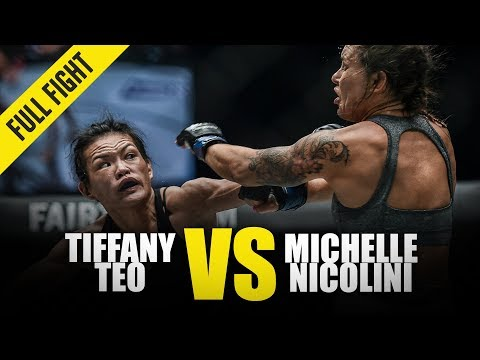Tiffany Teo Vs. Michelle Nicolini | ONE Full Fight | November 2018