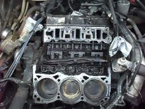 Buick V6 Lower Intake Manifold And Head Gasket Removal