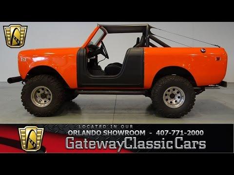 1975 International Scout Harvester Gateway Classic Cars Orlando 530