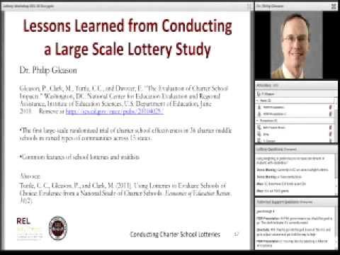 Charter School Lotteries Webinar