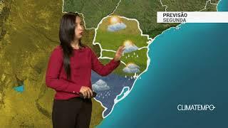 Previsão Sul – Chuva se espalha pela Região