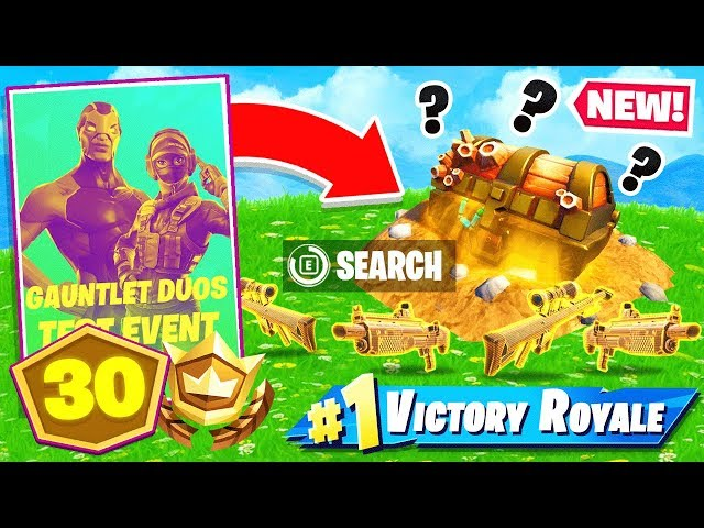 BURIED TREASURE Pop-Up CUP *NEW* Game Mode in Fortnite Battle Royale!