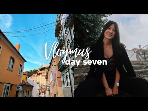 a day in my life in lisbon: a very chatty vlog | vlogmas day 7