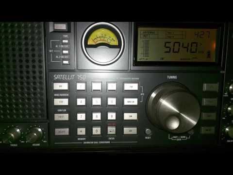 Radio Habana Cuba - 5040 KHZ - 04:27 UTC