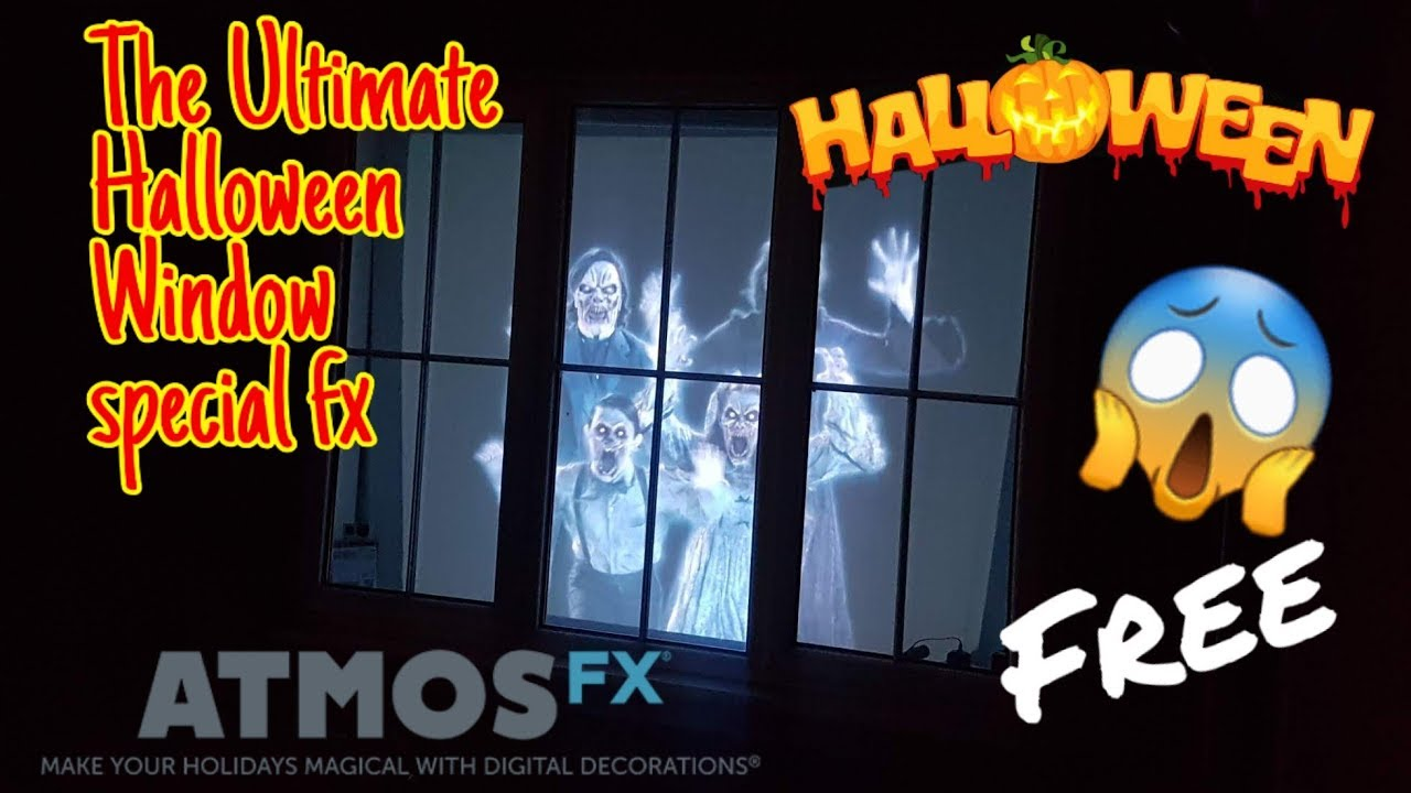 How To Get Free Halloween Window Special Fx From Atmosfx Youtube