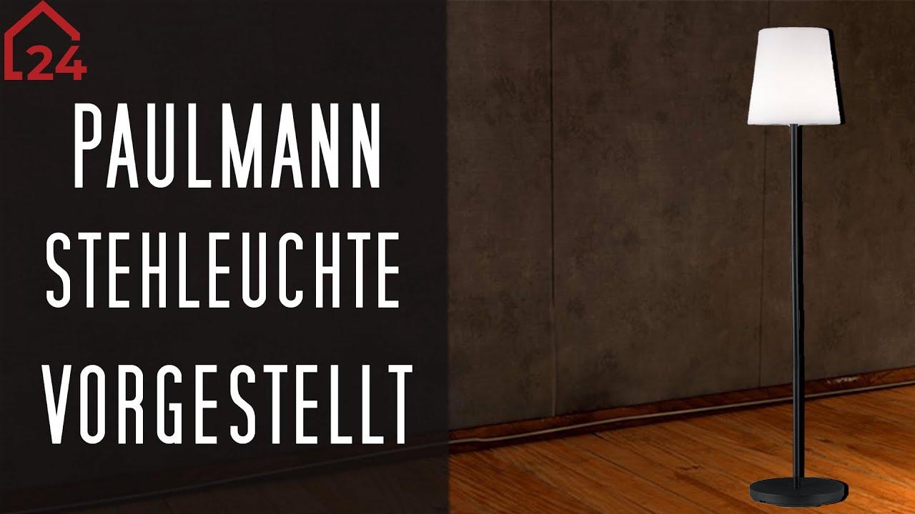 IP44 Paulmann Mobile Outdoor Stehleuchte Placido Akkubetrieb dimmbar