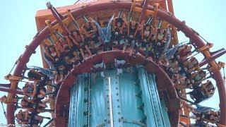 Falcon's Fury (4K On-Ride) Busch Gardens Tampa