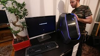 Video New Gaming System Dell Alienware Area 51 Unboxing and Benchmark download MP3, 3GP, MP4, WEBM, AVI, FLV Agustus 2018