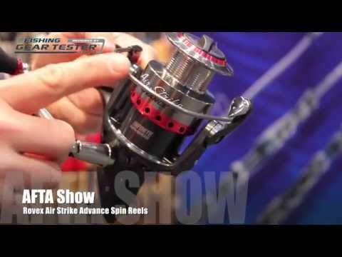 AFTA REVIEW: Rovex Air Strike Advance Spin Reels