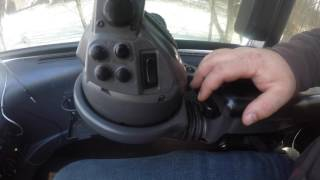 HOW TO OPERATE A PONSSE HARVESTER. CONTROLS SETUP