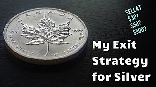 My Exit Strategy for Silver