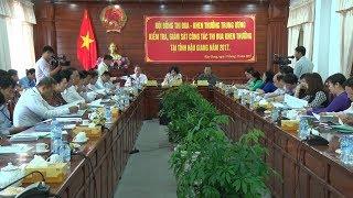 Phó Chủ tịch nước Đặng Thị Ngọc Thịnh kiểm tra công tác thi đua, khen thưởng tại tỉnh Hậu Giang