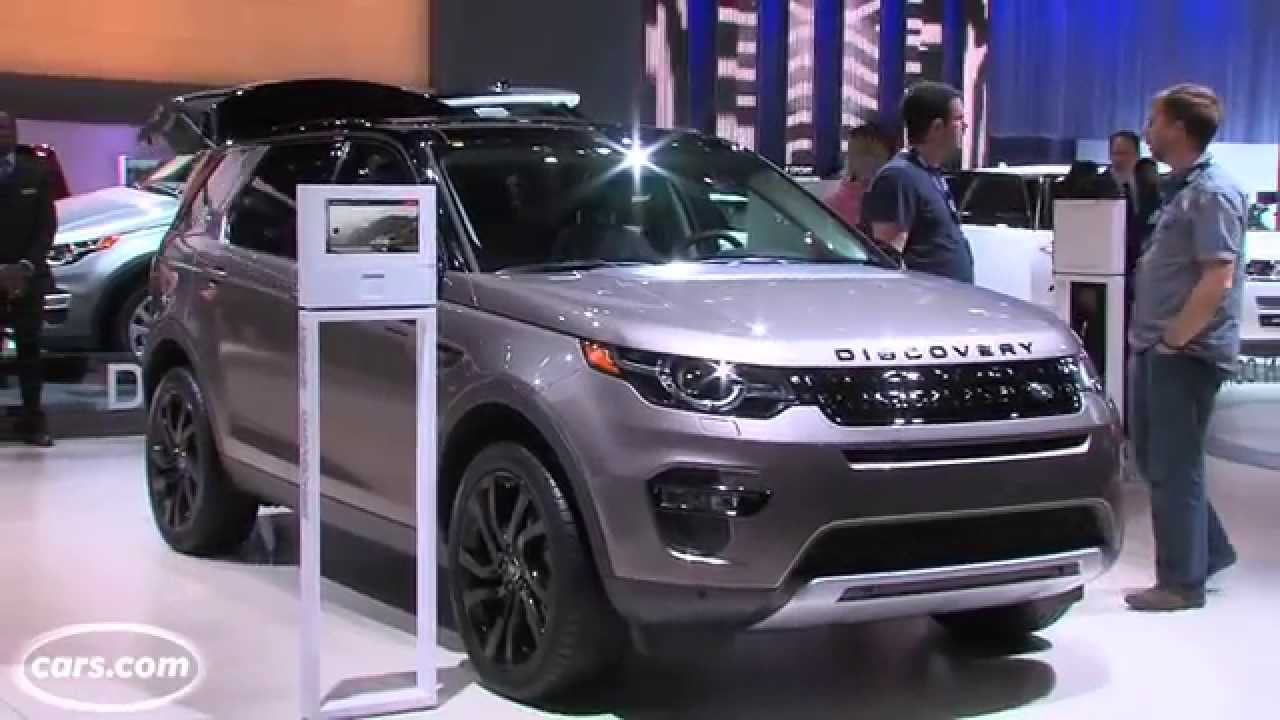 2015 land rover discovery sport - first look - youtube