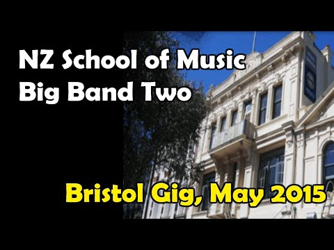 Hotel Bristol Gig, May 2015 - NZ School of Music's Big Band 2