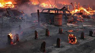 Целый город сожжен дотла, люди пропадают безвести. Чудовищная жара в Канаде