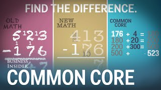 How Common Core subtraction works
