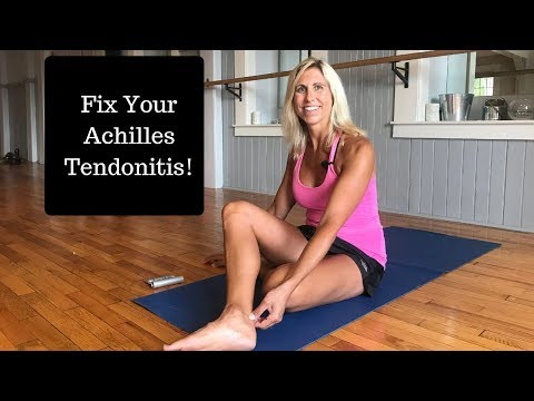 Best Exercises To Get Rid Of Achilles Tendonitis