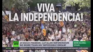 Catalan referendum no more than impossible dream - Spanish PM