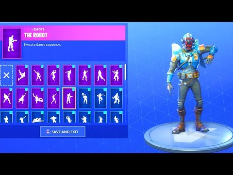 *NEW* THE VISITOR SKIN with 20+ DANCE EMOTES!!