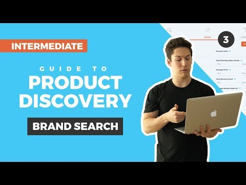 Intermediate Guide to Brand Search in Product Discovery: Find Products to Sell on Amazon