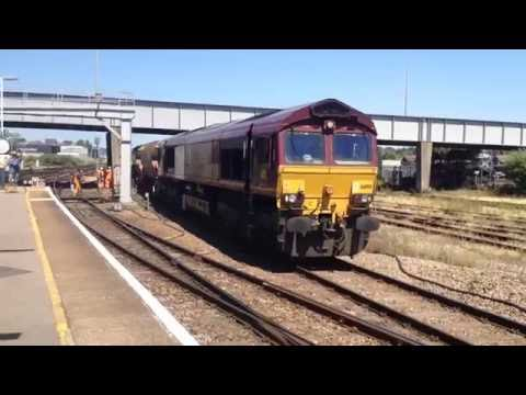 Freight At Eastleigh | 19th of July 2016. Incl 46115 'Scots Guardsman' & 455901