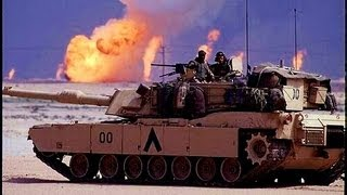 Tank footage- M1 Abrams Battle, Gulf War 1991