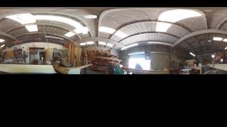 VR 360 Timelapse in the Woodshop