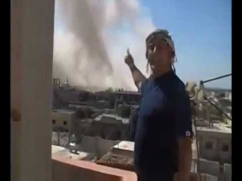 "NATO's ""Free"" ""Syrian"" ""Army"" Terrorists Bomb a Hospital Filled with People in Homs/Syria."