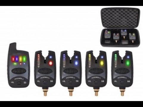 Набор сигнализаторов поклевки с пейджером Hoxwell HL59 - YouTube