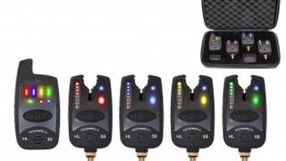 Набор сигнализаторов поклевки с пейджером Hoxwell HL58,50,42(Обзор набора электронных сигнализаторов поклевки с пейджером Hoxwell HL58 (4+1) , HL50 (3+1) и HL42(2+1) Приобрести можно..., 2015-12-22T20:06:23.000Z)