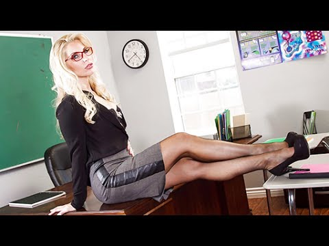 All hot girls blonde teacher