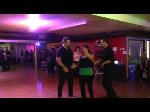 Wild West Coast Swing dance - partner stealing fun