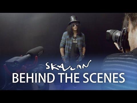 Skavlan photo Sessions | Slash, Uma Thurman, Margot Wallström, Svante Pääbo