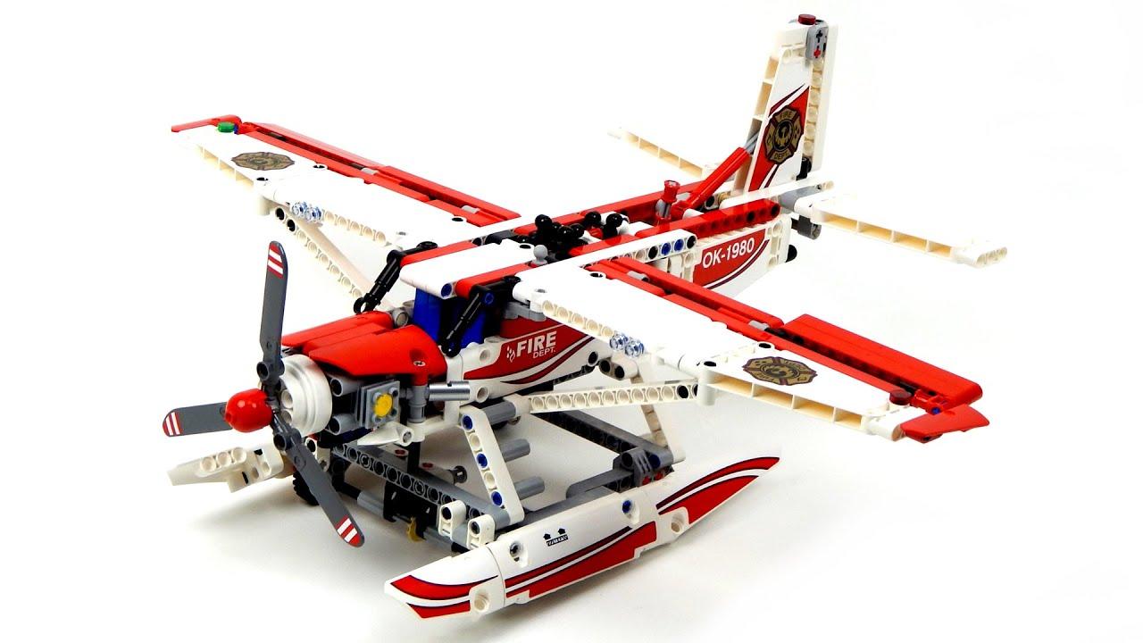 Lego City Fire Plane Speed Build