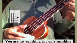 You are my Sunshine UKE class