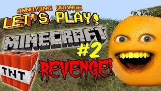 - Annoying Orange Let s Play Minecraft 2 TNT Revenge
