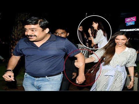 Deepika Padukone Spotted At Yauatcha Restaurant | Bollywood News | YOYO Cine Talkies