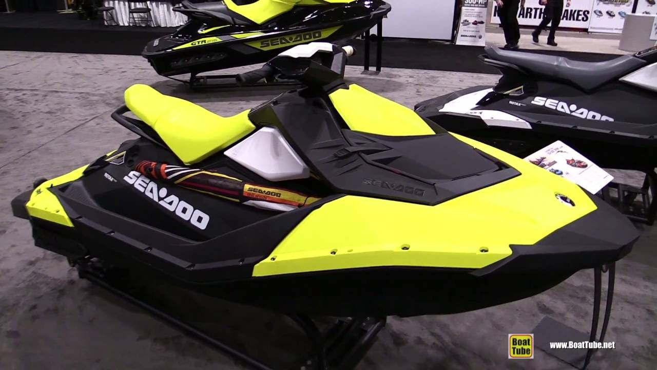 Taking Delivery Of a Sea Doo Spark Trixx - YouTube