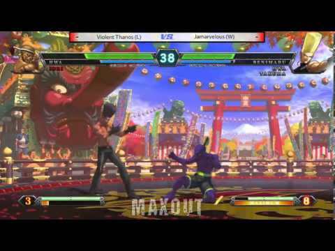 MAXOUT 1182014  The King of Fighters XIII Losers and Grand Finals