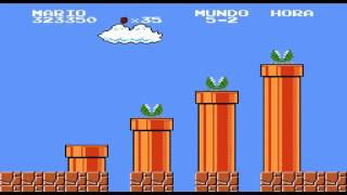 Super Mario Bros. 8 (Hack de Super Mario 1) Mundo 5