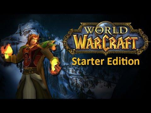 World Of Warcraft Starter Edition Limits