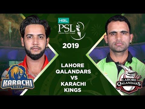 Match 20: Full Match Highlights Lahore Qalandars Vs Karachi Kings   HBL PSL 4   HBL PSL 2019