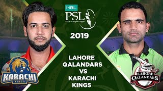 Match 20: Full Match Highlights Lahore Qalandars Vs Karachi Kings | HBL PSL 4 | HBL PSL 2019
