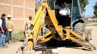 Arranque de drenaje sanitario en Lucero de Ramales