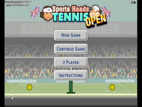 0ad491ea819bc Brothers Gaming Ep 1  Sports Heads Tennis Open Ft. TheMatekowski ...