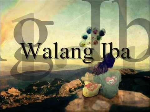 Walang Iba  by Ezra Band  Lyrics