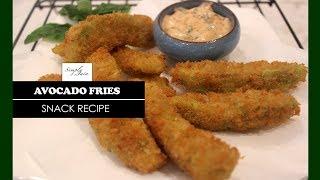Avocado Fries With Chilli Mayo Dip | How To Make Avocado Recipe | Snack Recipe | Simply Jain